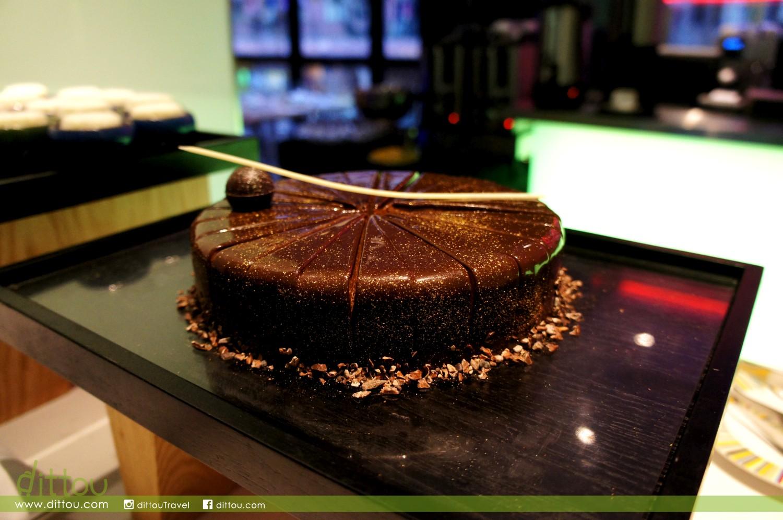 逸 • 酒店 Hotel sáv 自助餐廳 Palette 法國Weiss 72%朱古力冧酒蛋糕