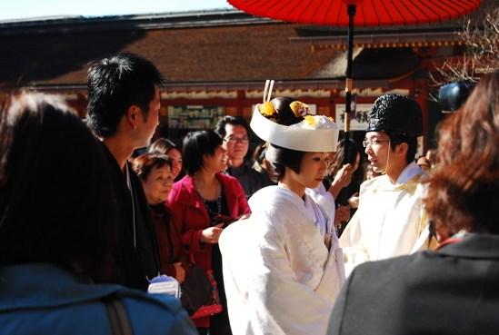 偶遇傳統的日本婚禮