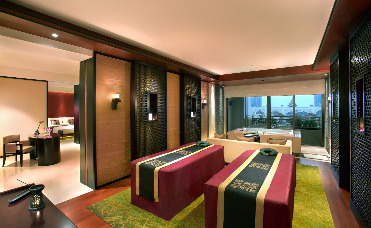 澳門銀河綜合渡假城 Galaxy Macau Banyan Tree Macau- Spa Sanctuary Suite