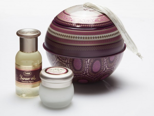 Sabon Timeless Spark Ball Kit 聖誕球吊飾組合 - HK$115