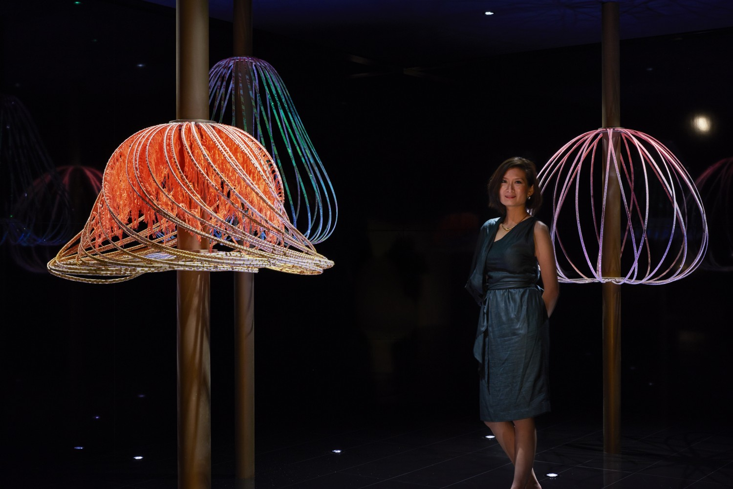 Art Central - 'Sundew' by Elaine Yan Ling Ng for Swarovski