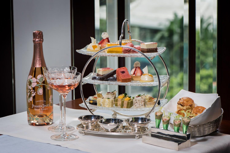港島香格里拉大酒店銀禧Perrier-Jouët下午茶
