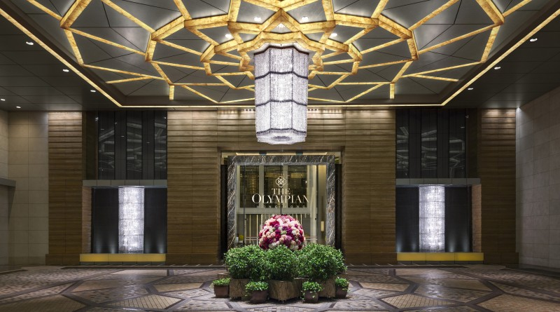 香港遨凱酒店 Hotel Entrance