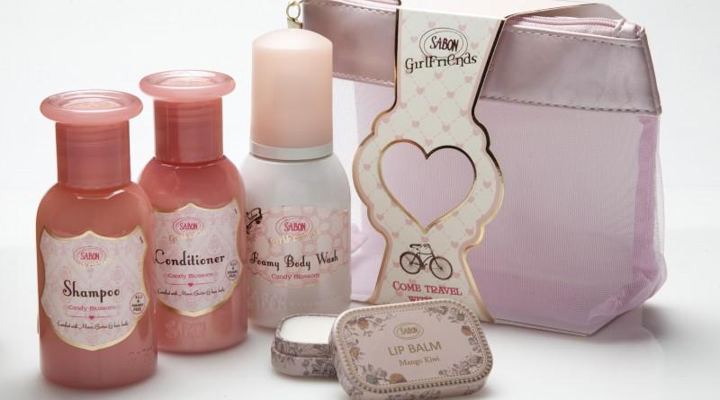 SABON 甜蜜花香限量旅行套裝 Candy Blossom Travel Kit HK$295