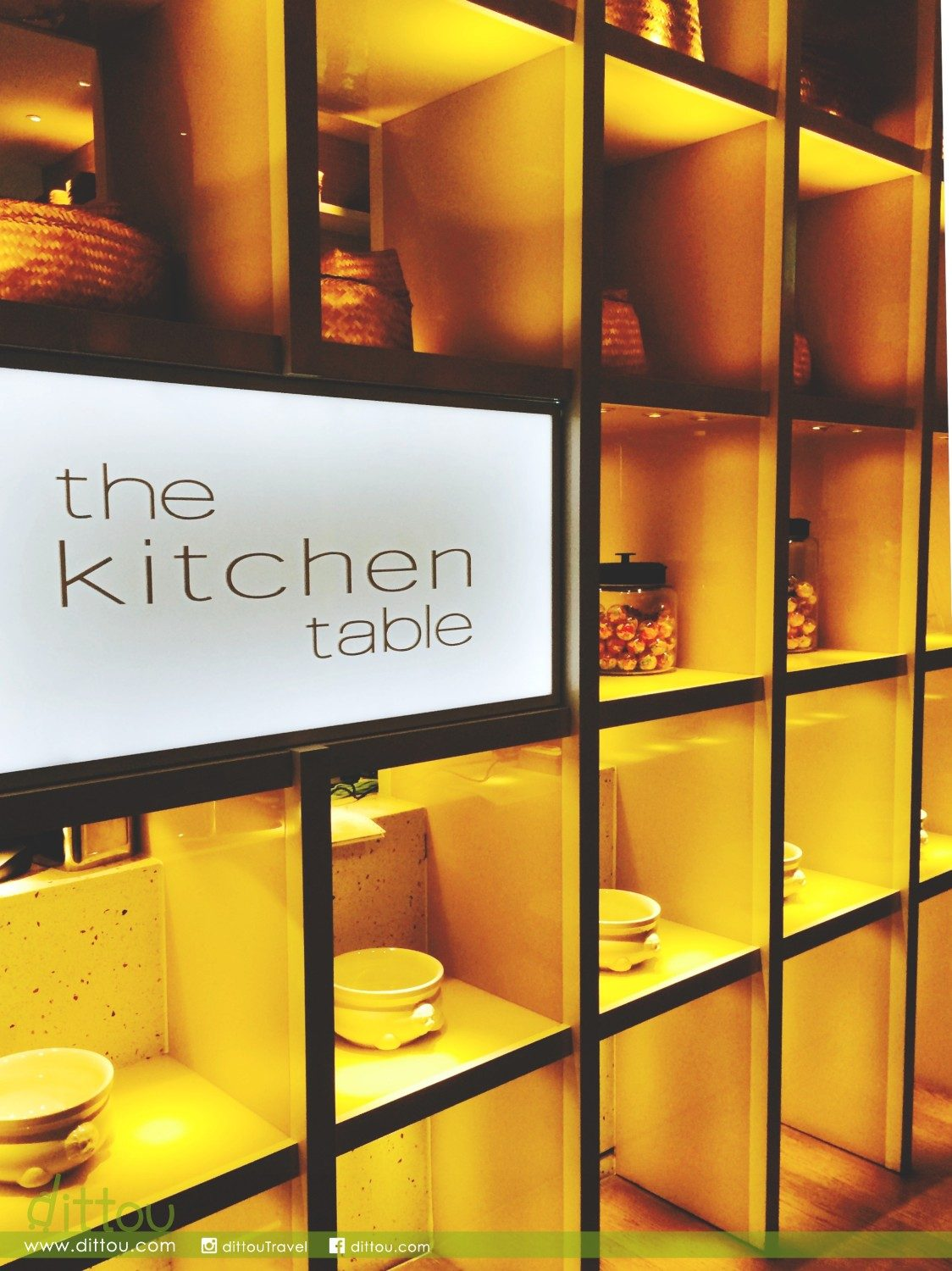 台北的魔幻廚房 Kitchen Table @ W Taipei