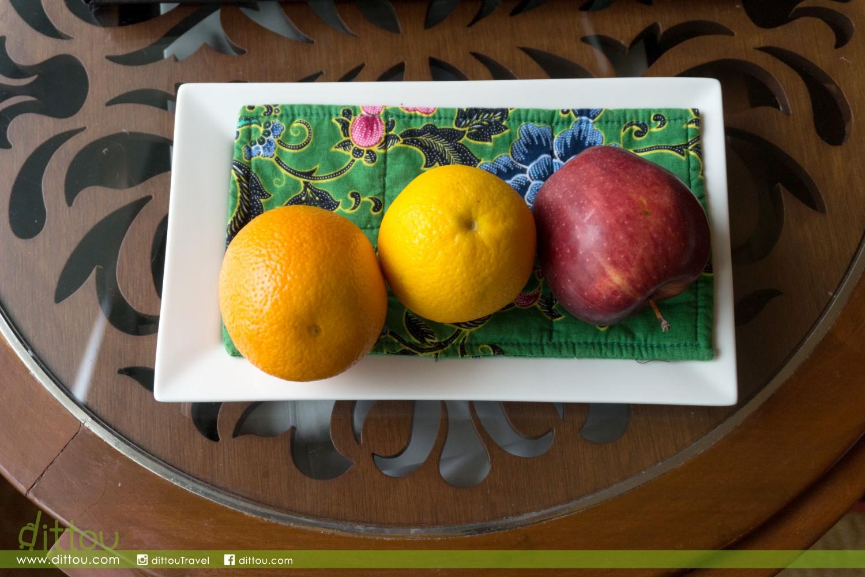 和別的酒店不太相同,這裡的水果是每日供應!