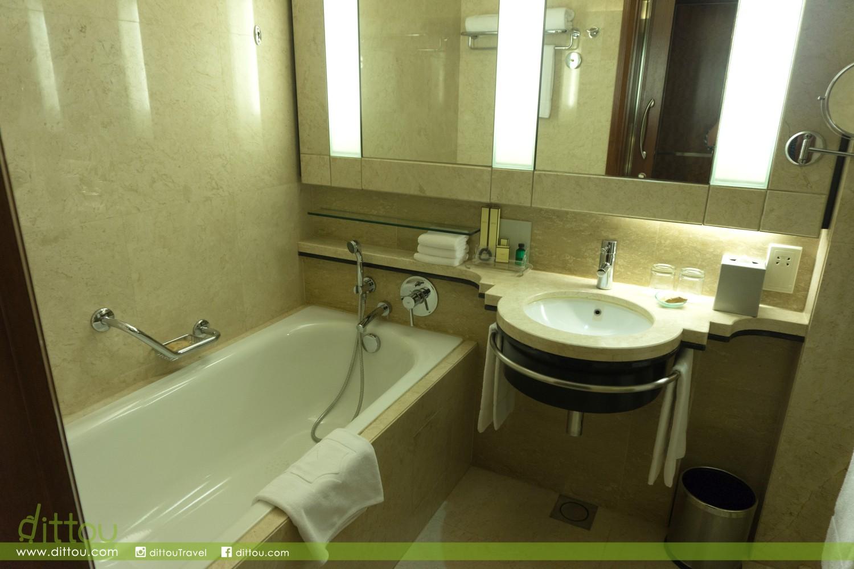 採用乾濕分離浴室設計,浴室雖然乾淨,但驚喜欠奉。