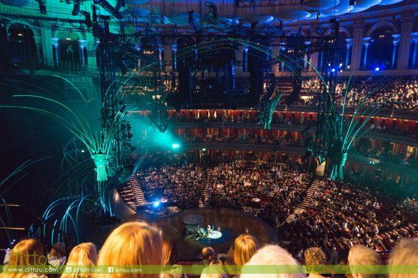 【走進豪華皇家音樂廳】在Royal Albert Hall看太陽劇團表演
