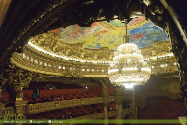 走進歌劇魅影的世界 – Palais Garnier (巴黎歌劇院)