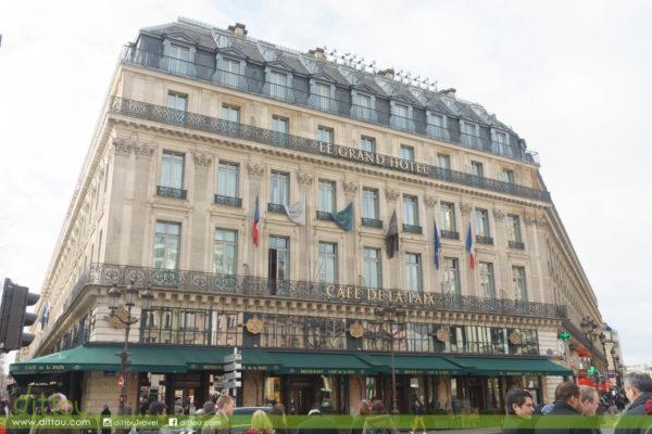 【享受真正法式奢華】InterContinental Paris Le Grand 巴黎洲際大酒店