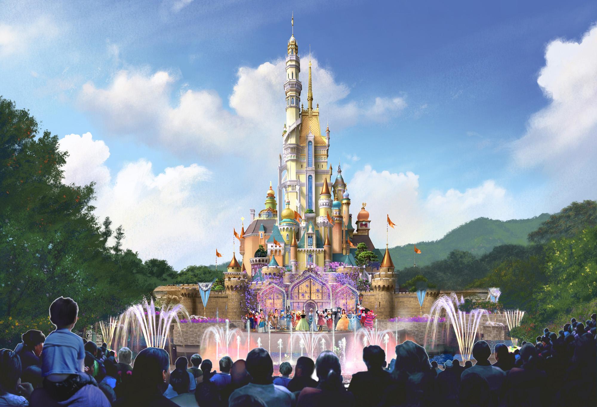 融合不同文化的迪士尼公主故事!香港迪士尼全新城堡概念圖出爐