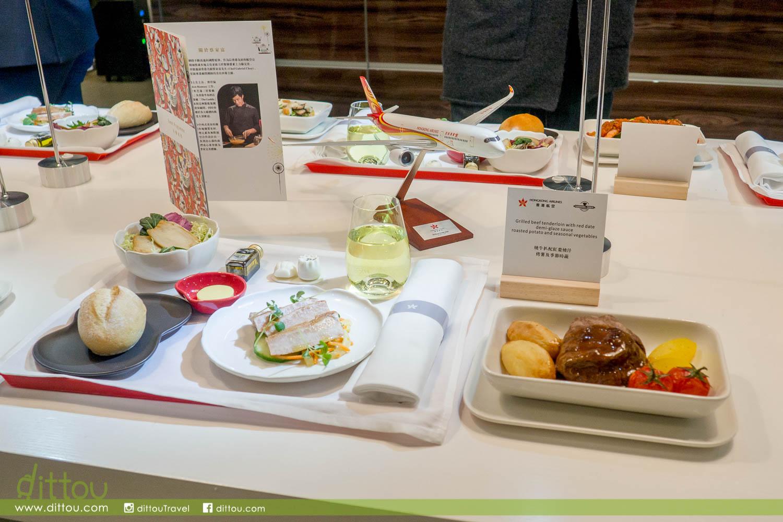 機上享受香港風味美食!香港航空 x Gabriel Choy 全新商務艙餐膳體驗