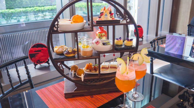 初夏看蝴蝶在甜點上飛舞!問月酒店 x ZAXY 炫目黃色繽紛下午茶