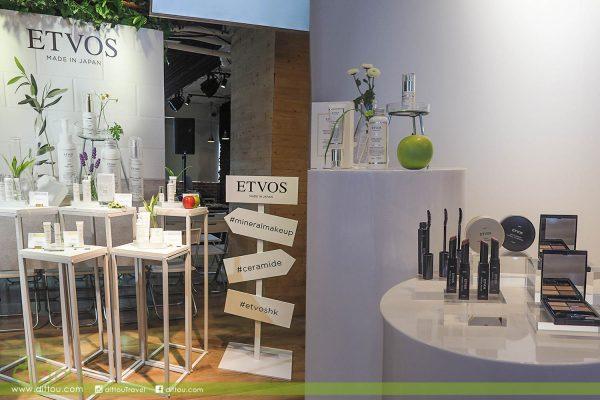 越化越美麗的秘密!日本礦物彩妝品牌ETVOS進駐香港