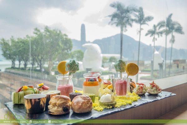 和巨型月兔一起享用下午茶吧!堤岸酒吧「維港Bun Fun月兔賞」下午茶