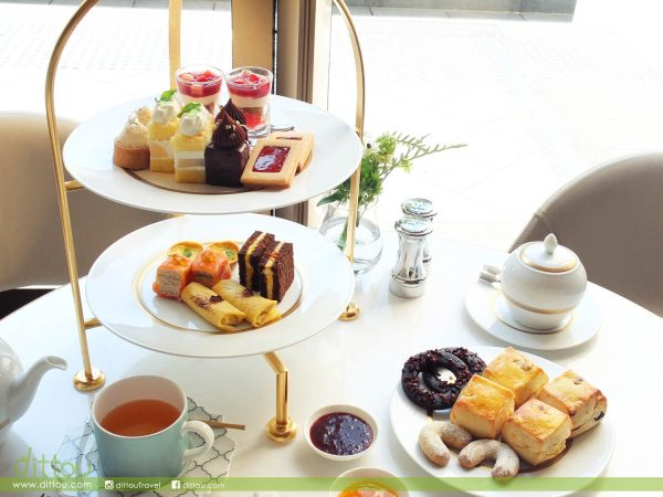 THE MURRAY's Garden Lounge: 優雅花園裡的甜美午茶