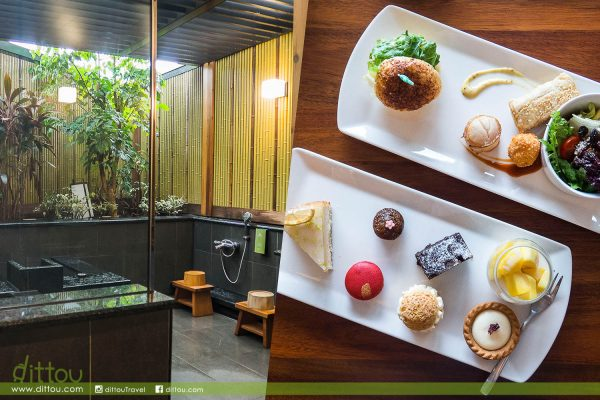 【北投半日遊】質感溫泉旅館 享受戶外湯屋與精緻下午茶