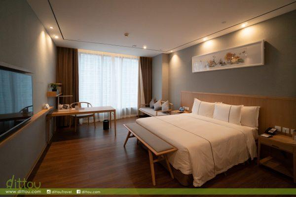 【廣州天河】華軒里酒店 城市裡也能享好空氣