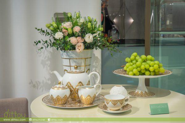 彌漫著東方茶香的法式宮廷茶聚!BERNARDAUD x 福茗堂品茶體驗