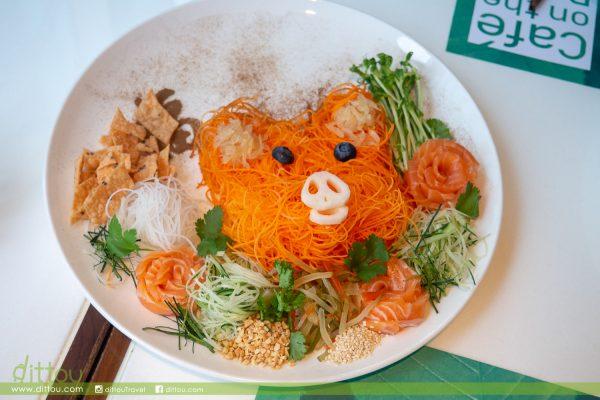 可愛豬豬「撈起」!柏景餐廳「珍饈百味慶豐年」自助餐