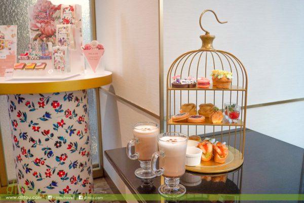 走入貓的春日花叢中!one+one café&bar x PAUL&JOE 貓の花見下午茶