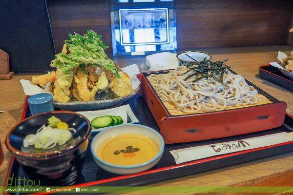 【日本長瀞】月石紅葉公園周邊美食推薦   文吉蕎麦 もみの木