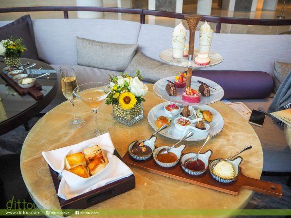 灑上閃亮金箔的秋天!嘉里酒店 x Darphin凝金瑰麗下午茶