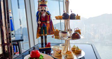 用慕尼黑的傳統甜點陪伴聖誕!Ritz Carlton Café 103德式下午茶