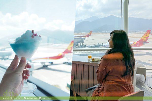 【香港地道風格】香港航空商務貴賓室 – 遨堂(Club Autus)