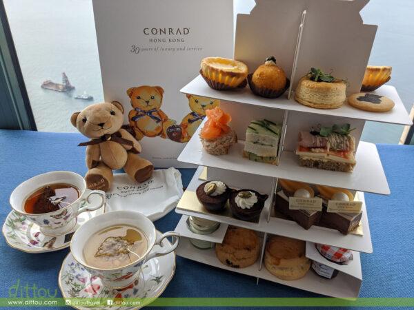 【Conrad Tea Set Takeaway】與可愛小熊安坐在家中享受下午茶!