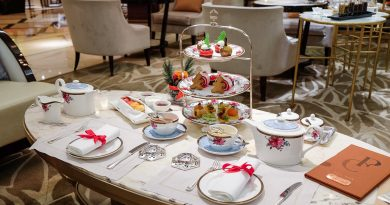 走入朗廷酒店的甜美粉紅國度!廷廊「聖誕糖果世界」下午茶