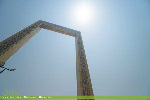 【阿聯酋】2019 | 穿越過去,現在和未來「杜拜畫框」The Dubai Frame