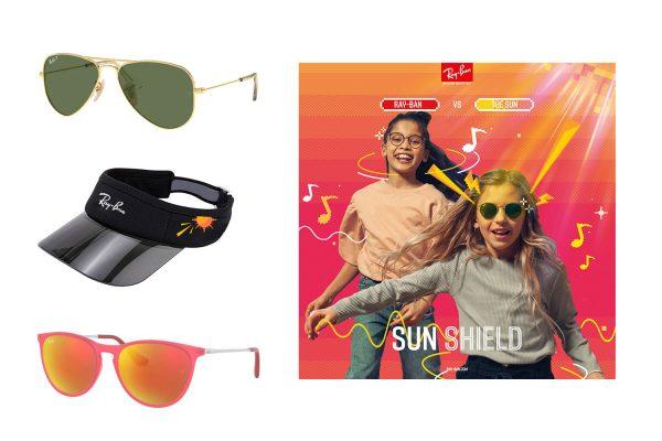 夏日至Cool造型 Ray-Ban全新KIDS系列