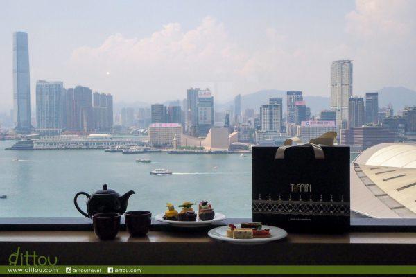 抓住夏日的尾巴:君悅酒店茶園夏日外賣下午茶